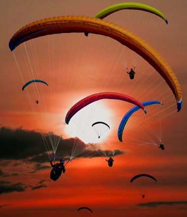 Paragliding Travel Guide